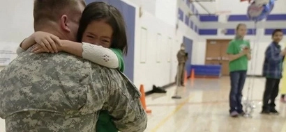 Soldier Has Been Gone For 3 Years. After He Hugs His Daughter, Mom Reveals Her Secret...