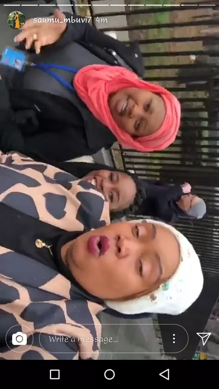 Sonko's wife and Saumu Mbuvi serving us mommy-daughter goals all the way from New York