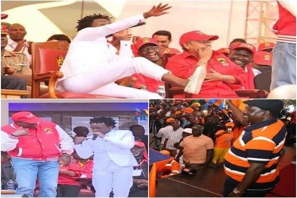 Why Bahati sat on Uhuru's revered seat, shocking Kenyans