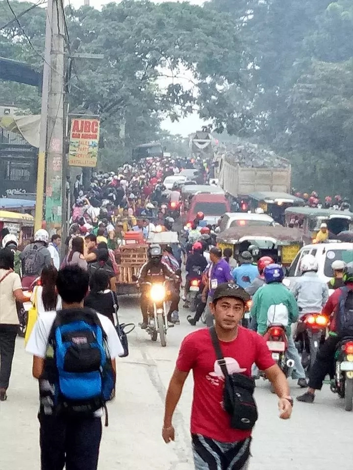 Netizen asks government intervention to solve heavy Montalban traffic