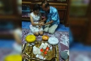 70-year-old former policeman marries 17-year-old POOR girl