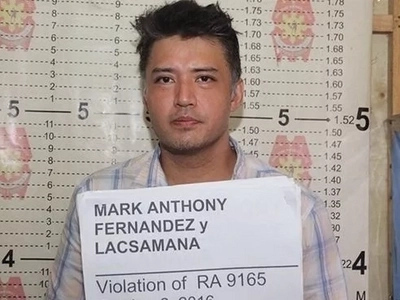 Kumpirmado! Former drug dependent Mark Anthony Fernandez dabbles again in marijuana