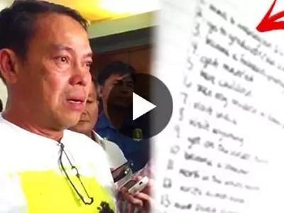 Albuera mayor names son's drug cohorts - one senator included