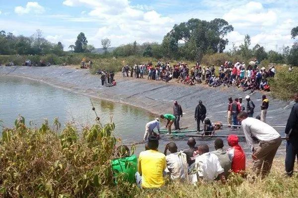 Mwai KIbaki's dam