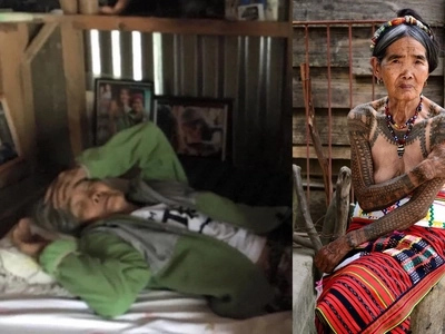 Ang huling mambabatok! The Philippines' oldest traditional tattoo artist Apo Whang-Od no longer in good health