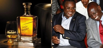 Video of Jubilee governor PRAYING FOR ALCOHOL before consuming