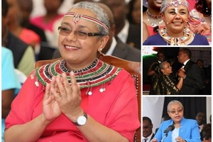 Margaret Kenyatta's counterpart sends a STRONG message to her husband