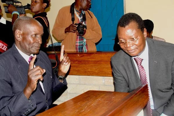 Kakamega county deputy governor Philip Kutima arrested