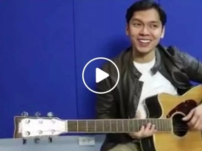 Balik sa kabataan! Former 'G-Mik' star Carlo Aquino sings the show's theme song