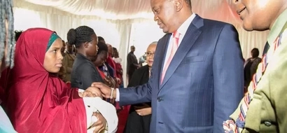Uhuru does this honourable act for his Recce Squad bodyguards who died in Naivasha accident (photos)