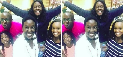 Raila Junior and his wife spotted in Kibera... guess what they were doing (photos)