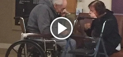 Elderly couple have spent 62 years together but now are separated in different care homes