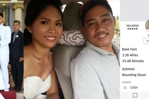 This Pinay is the first Uber bride after an Uber booking saved her on her wedding day