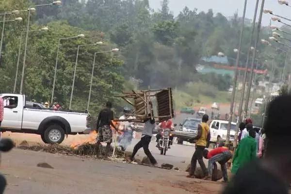 Raila attacked in Western