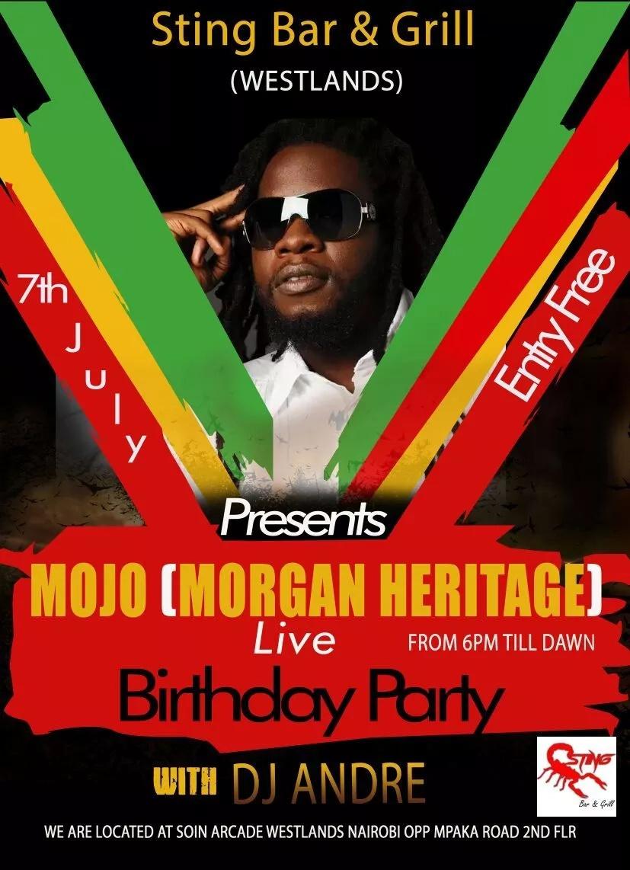 World-renown reggae singer makes an announcement that will excite true reggae heads in Kenya