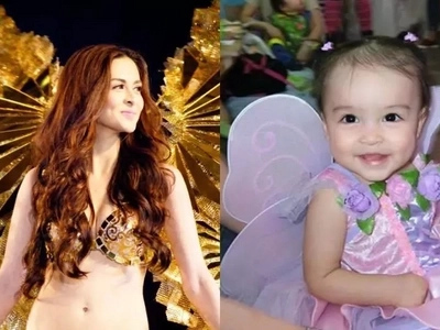 Like mother like daughter :Baby Zia is a Marian River in the making!