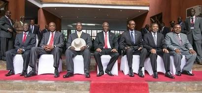 Marais 4, marafiki wakuu wa Rais Uhuru, ambao hawakumpigia Waziri Amina kura