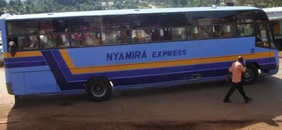 Photos from a nasty accident involving Nyamira Express bus that has claimed lives