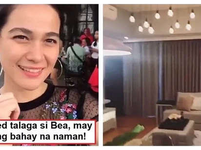 Ang bongga! Bea Alonzo gives a glimpse of her new house in Tagaytay