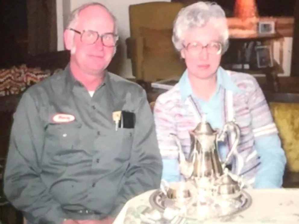 They lived together for 63 years and died just 20 minutes apart