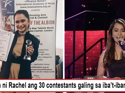 Nirecognize ng foreigners talent niya! Tawag finalist who lost in PH wins international singing competition in London