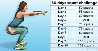 A 30-day squat challenge that can help sculpt the butt of your dream