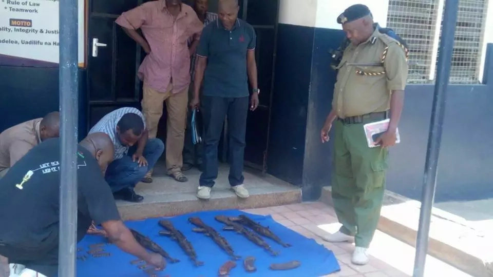 Police recover guns and bullets in house believed to belong to top NASA financier