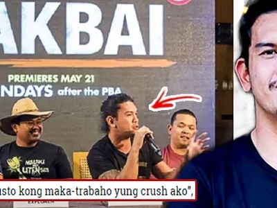 """Umamin na kayo!"" Baste Duterte Calls Out To All Those With a Crush On Him"