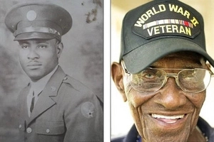 Unfair! Oldest living World War II veteran, aged 110, to lose his home in his final days (photos, video)