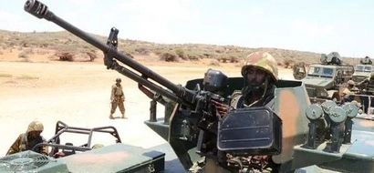 KDF soldiers in DEADLY fightback after another attack in El Wak