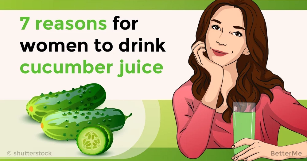 7 reasons for women to drink cucumber juice