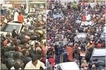 Raila receives rousing welcome in Uhuru's stronghold