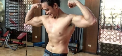 Cesar Montano ang dating! Diego Loyzaga shows off topless photo