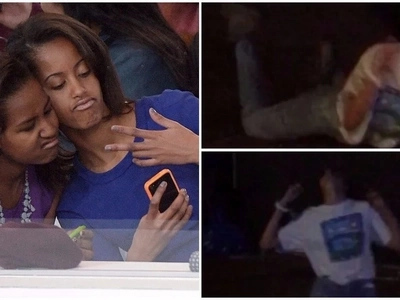 Malia Obama, 19, lost her iPhone while dancing wildly at music concert