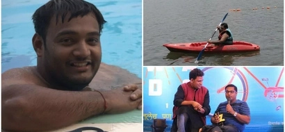 Never give up! This 28-year-old man who is not functional from waist down becomes gold medalist (photos)