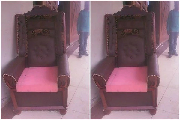 Church rejects EXPENSIVE chair after governor sat on it