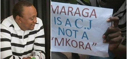 Wakazi wa Kisii waandamana tena kumkashifu Uhuru kwa kumtishia Maraga