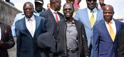 Kisumu governor jets back into the country after successful surgery and 2 month stay in the US