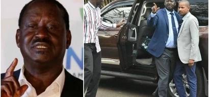Ni nini Raila Odinga alikuwa anamnongonezea Babu Owino kwenye picha hii?