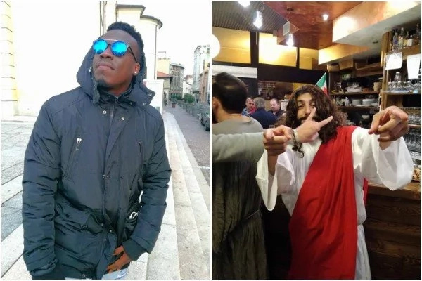 Haha! Jesus Christ, his disciples allegedly spotted in a bar in Dubai (photos)