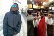 Flamboyant Kenyan singer meets 'Jesus' and his disciples in Italy (Photos)