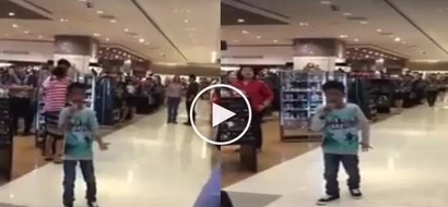 This young boy singing in a mall went viral! His version of 'Listen' is the best!