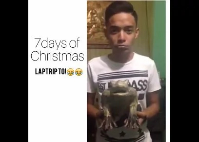 "Group of boys create funny version of ""7 days of Christmas"""