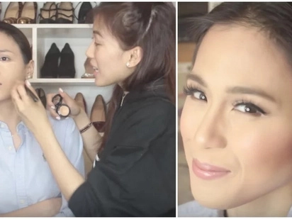 YouTuber na rin siya! Alex Gonzaga goes into video making with her make up tutorial featuring her sister Toni