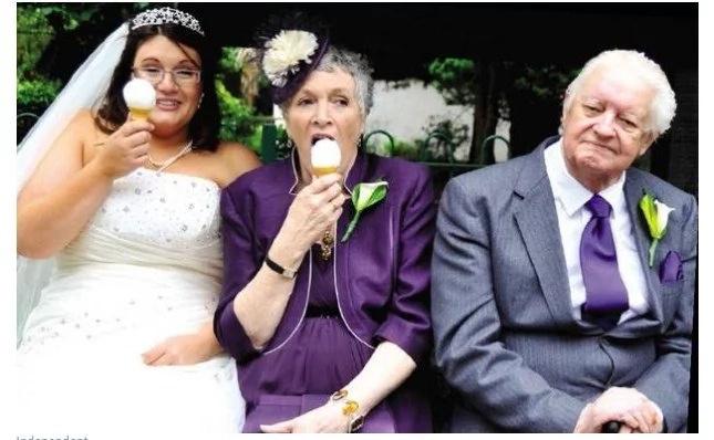 Experiencia cercana a la muerte inspiró a esta devastada novia a perder 74 libras