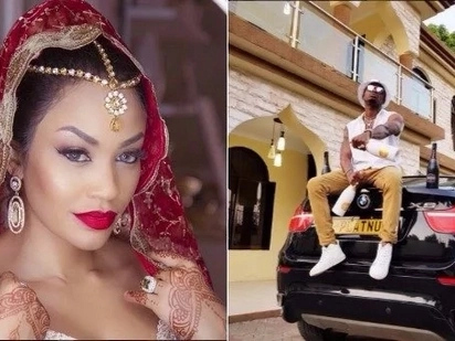 Diamond sends Zari a birthday message after siring a kid with socialite Hamisa Mobetto