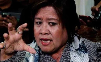 Terrified De Lima: 'I feel like I'm a dead woman walking'