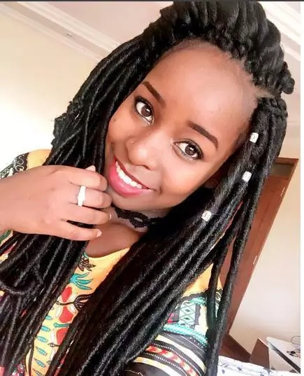 Sonko's daughter, Saumu Mbuvi shows love for her man in these 7 photos