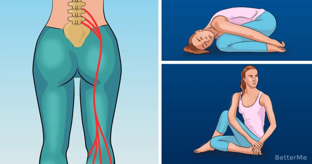 4 easy tricks to relieve sciatic pain