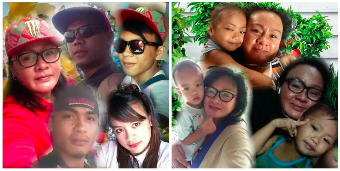 After a horrible tragedy that killed her husband, this single mother supported her four children and their spouses as an OFW